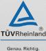 TÜV Rheinland - Genau. Richtig.